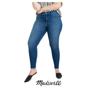 """Madewell 9"""" Mid-Rise Skinny Jeans Size 34"""